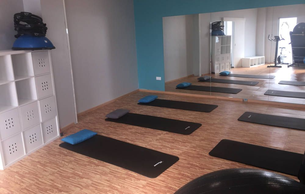 sala de clases de pilates en centro FisioVital