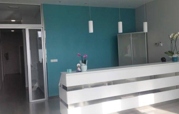 recepción de centro de salud y belleza FisioVital